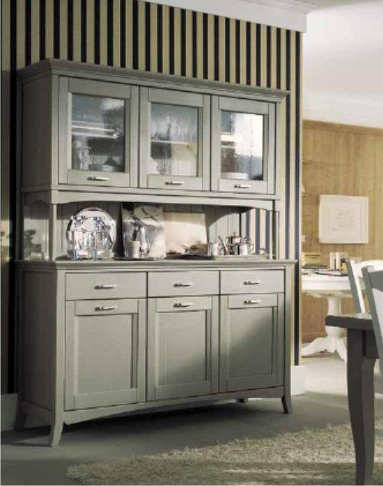 Cucine new classic tra tradizione e tecnologia for Credenza cucina mondo convenienza