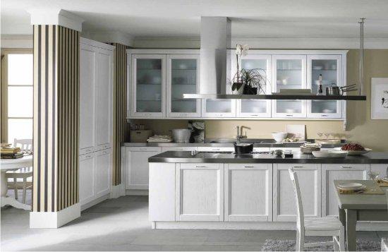 Isola Cucina Con Mensole.Cucine New Classic Tra Tradizione E Tecnologia