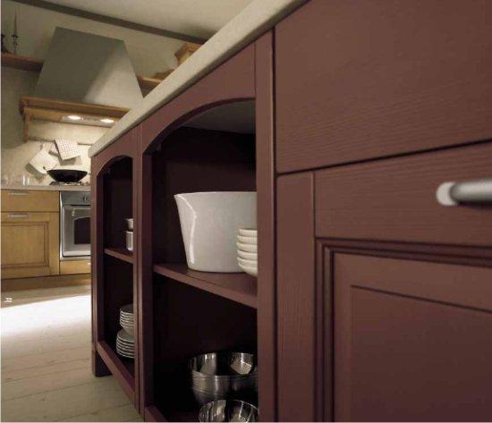 Cucine ad angolo in stile country - Mobili ad angolo per cucina ...