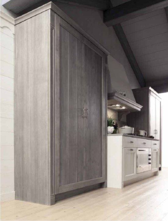 Cucina tabi mobili e cucine in legno massello - Armadio dispensa cucina ...