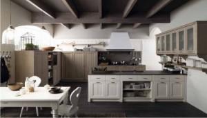 cucina classica tabià in vero legno