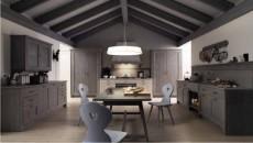 Cucina in legno massello Scandola Mobili