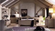 camera matrimoniale in vero legno
