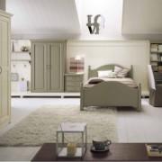 Camera classica in mansarda