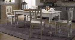 Tavolo classico con cassetto