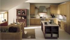 cucina ad angolo con sala da pranzo