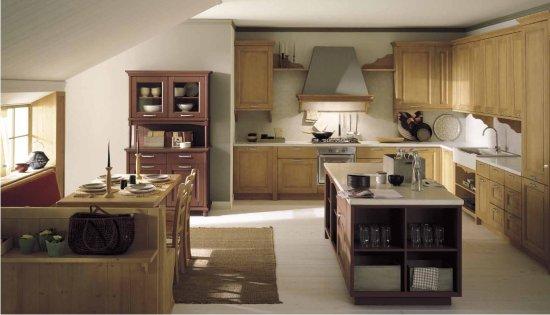 Cucine ad angolo in stile country - Mobile ad angolo per salotto ...