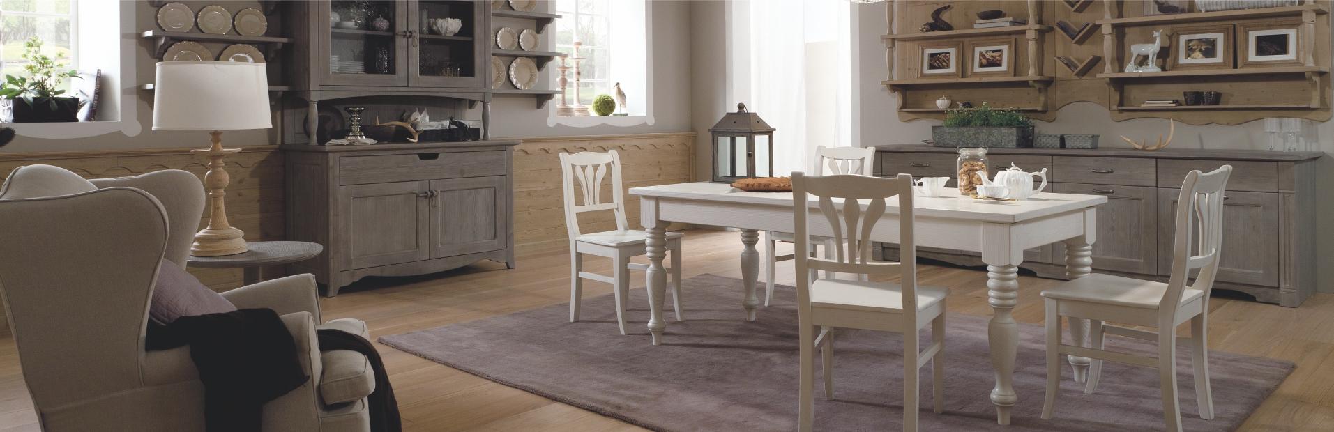 Tavoli in vero legno