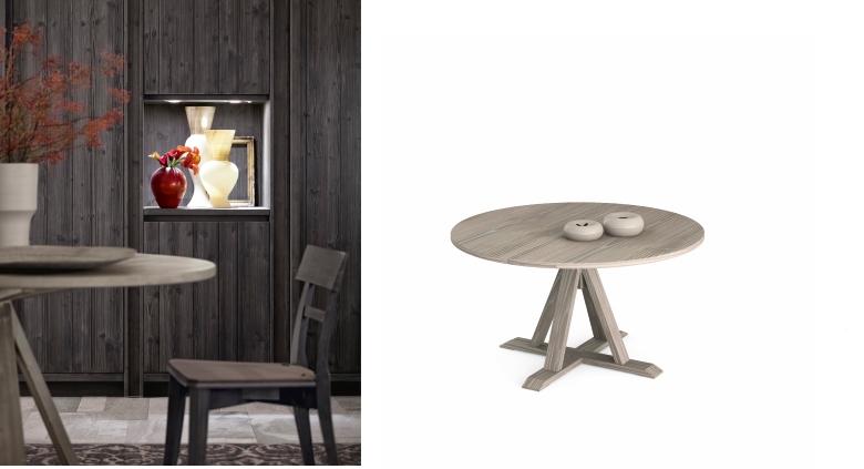 tavolo maestrale in vero legno