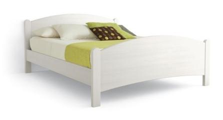 letto in legno massello semplice Luna