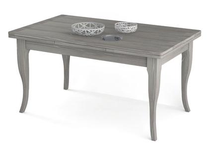 tavolo con gambe a sciabola